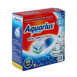 AQUARIUS Таблетки для посудомоечных машин 60шт