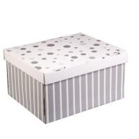 Коробка подарочная складная 31,2х25,6х16,1см стильный дом арт 2640212