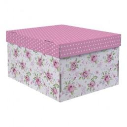 Коробка подарочная складная 31,2х25,6х16,1см Воспоминание о чудесном арт 2640216