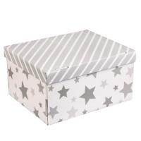 Коробка подарочная складная 31,2х25,6х16,1см звездные радости арт 2640211
