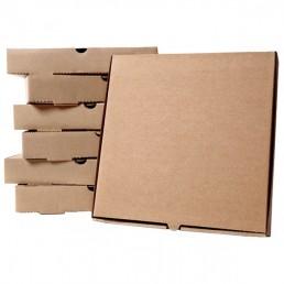Короб для пиццы 31х31см Бурая