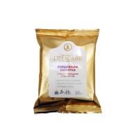 DELICARE Салфетки влажные 20шт Очищающие с маслом Макадамии и маслом Ши
