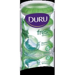 DURU Туалетное мыло 4х115г Горная свежесть