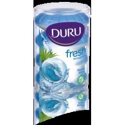 DURU Туалетное мыло 4х115г Океанский бриз