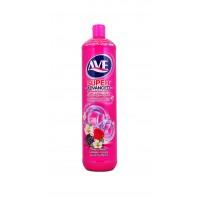 AVE Жидкость для мытья посуды 1л Малина и цветы