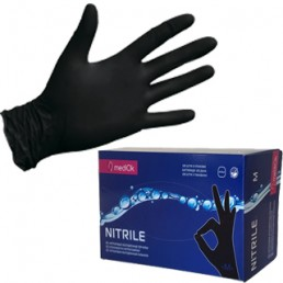 MEDIOK Нитриловые неопудренные перчатки 100шт S