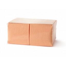 АСТОРИЯ/ДИВА Салфетки бумажные 24х24см 400л Пастель, Оранжевые