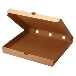 Короб для пиццы 30х30см Бурая