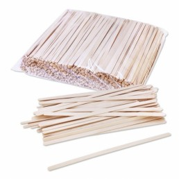 ФИЕСТА Размешиватель деревянный 140мм 1000шт