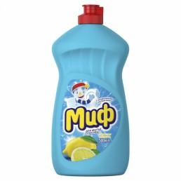 МИФ Средство для мытья посуды 500мл Лимонная свежесть
