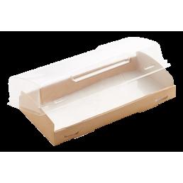 DO ECO Контейнер с прозрачным куполом OpBox 600мл 200х100х40мм