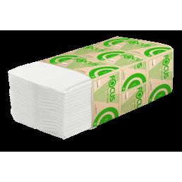 FOCUS Полотенца бумажные V-сложение 1сл 200л