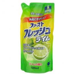 Daiichi гель для мытья посуды, овощей и фруктов 500мл лайм