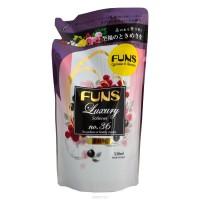 Daiichi FUNS кондиционер для белья 520мл аромат грейпфрукта и черной смородины