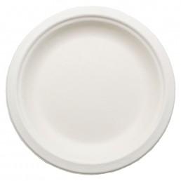 Тарелка биоразлагаемая д-180мм 50шт