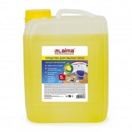 ЛАЙМА ПРОФ. Средство для мытья пола 5кг Лимон