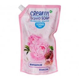 CREAMY Жидкое мыло для рук 1,25л Вишня и пион