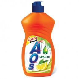 АОС EXTRA POWER Средство для мытья посуды 450г Лимон