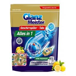 GLANZ MEISTER Таблетки для посудомоечных машин 90шт