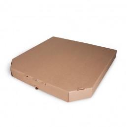 Короб для пиццы 33х33см Бурая