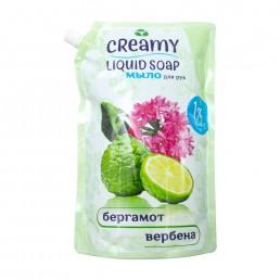 CREAMY Жидкое мыло для рук 1,25л Бергамот и вербена