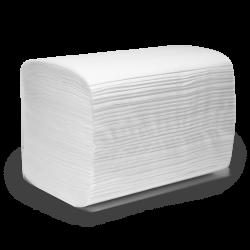 ПЕРО Салфетки бумажные V-сл. (ZZ) 2сл. 200л