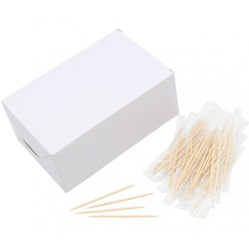 Зубочистки в индивидуальной ПП упаковке 1000шт