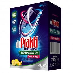 DR. PRAKTI Таблетки для посудомоечной машины 30шт