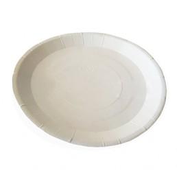 DO ECO PLATE Тарелка бумажная д-180мм 100шт Белая