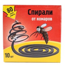 NADZOR Спирали от комаров 10шт