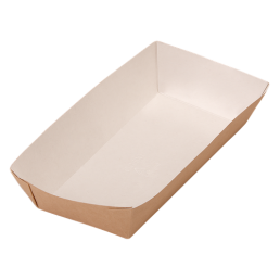 DO ECO Лоток картонный ECO TRAY 800мл 1115х220х42мм Крафт