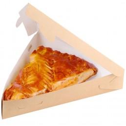 DO ECO Упаковка для пирогов, пиццы ECO PIE 800мл 220x200x40мм Крафт