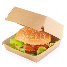DO ECO Упаковка для бургеров ECO BURGER XL 112х112х112 Крафт