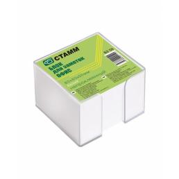 СТАММ Блок для заметок 90х90х50мм белый