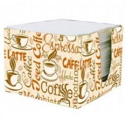 ПЕРЫШКО Салфетки бумажные в коробке 24х24см 2сл 85шт Кофе