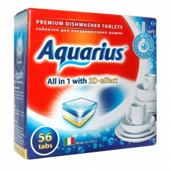 AQUARIUS Таблетки для посудомоечных машин 56шт