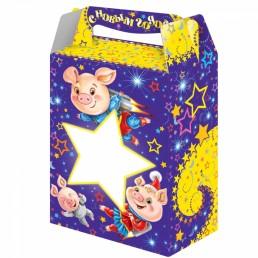 Коробка подарочная ЗВЕЗДА 1000гр (№4) (2019)