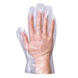 Перчатки полиэтиленовые одноразовые 100шт L