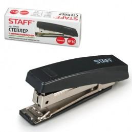 STAFF Степлер с антистеплером N10 Черный
