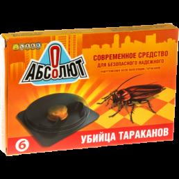 АБСОЛЮТ Приманка от тараканов 6 дисков