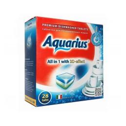 AQUARIUS Таблетки для посудомоечных машин 28шт
