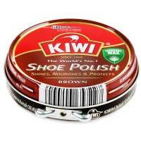 KIWI Крем для обуви 50мл Коричневый