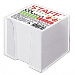 STAFF Блок для записей 9х9х9см в подставке