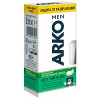 ARKO MEN Крем после бритья 50мл Защита от раздражений