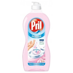 PRIL Средство для мытья посуды 450мл Бальзам Кальций