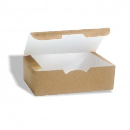 Короб бумажный ЭКО ФАСТ-ФУД 115х75х45мм Крафт