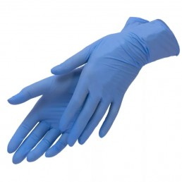 HOUSEHOLD GLOVES Перчатки нитриловые 100шт L Синий