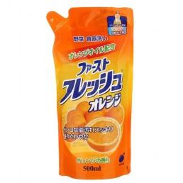 Daiichi гель для мытья посуды, овощей и фруктов 500мл апельсин