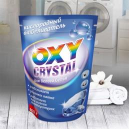 OXY CRYSTAL Кислородный отбеливатель 600г для белого белья