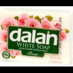 ДАЛАН Белое хозяйственное мыло110г Роза